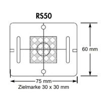 Meterriss-Plakette- RS51 – grau