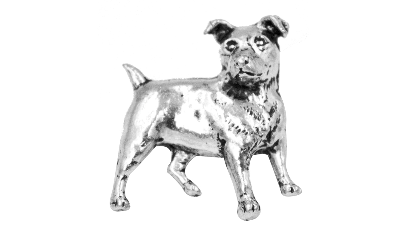 Pewter Pin No 16 Jack Russell Terrier