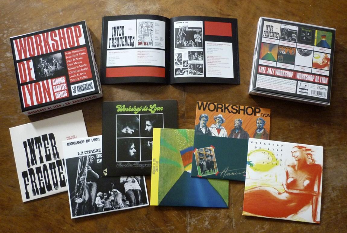 Contenu du coffret 6 CD du Workshop de Lyon