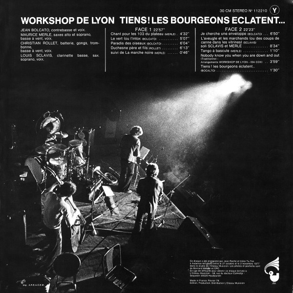Workshop de Lyon - Tiens ! Les bourgeons éclatent… (re-issue 2017)