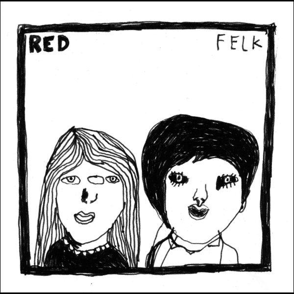 """Red """"Felk"""" CD Rectangle"""