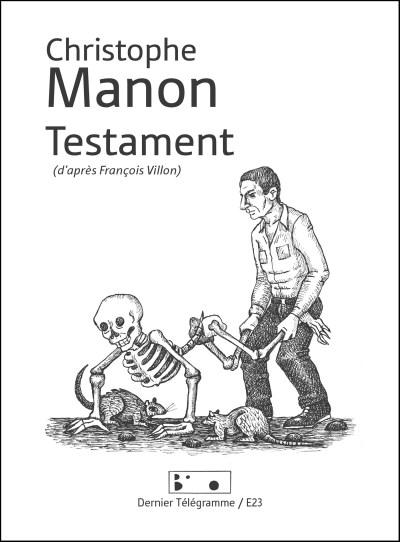 Testament - Christophe Manon, Thierry Müller, Anne Van Der Linde - BIS-012-U