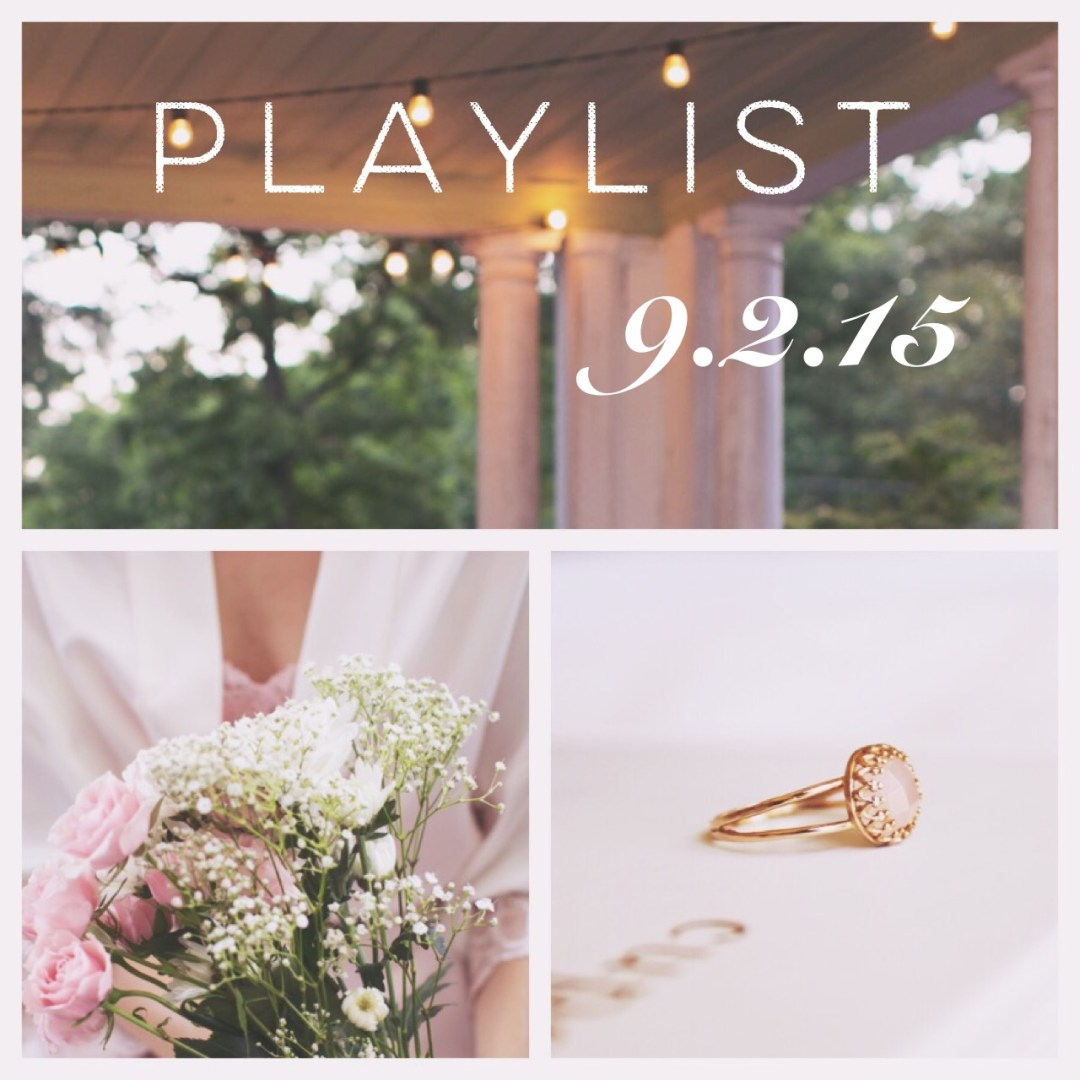 9.2.15: A Playlist for the Midweek Blah