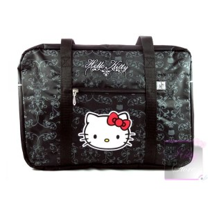Sac à main Hello Kitty noir baroque