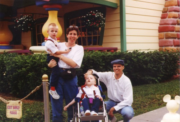The Bissell Family: (left to right) Aaron, Cindy, Eric and Rich