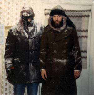 My Uncle Bear likes the cold.
