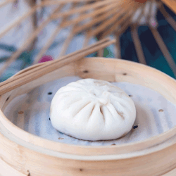 bao boeuf et champignon Bistro Zakka - bao Lyon - Restaurant chinois