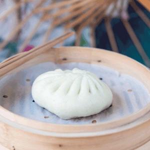 bao crevette & légumes Bistro Zakka - bao Lyon - Restaurant chinois