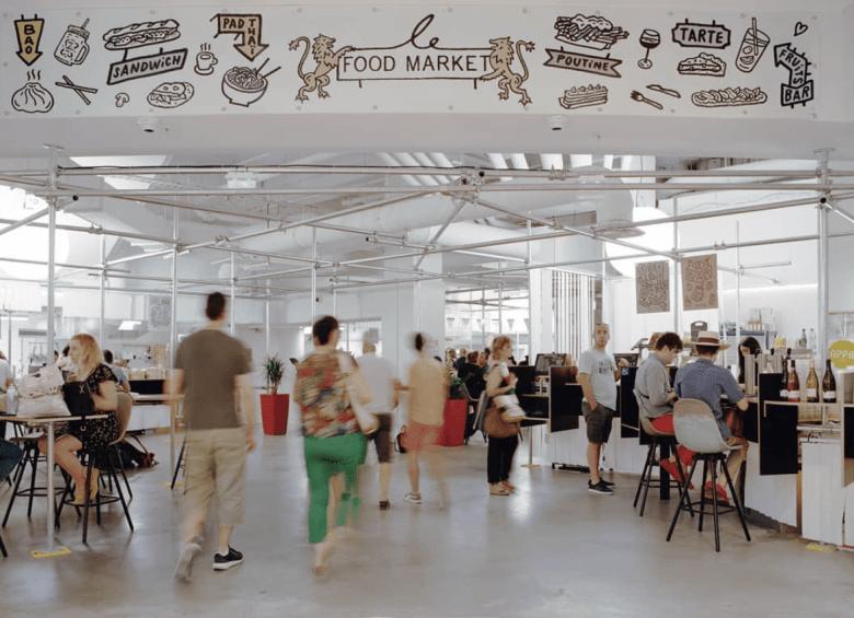 Bistro Zakka - Food Market - Lyon Part Dieu