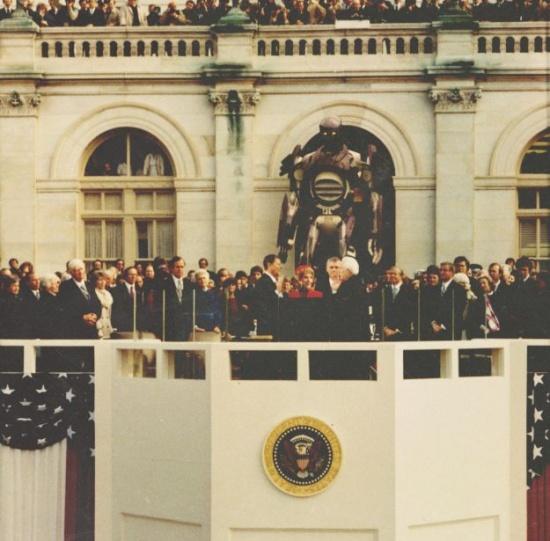 centinelas y el presidente