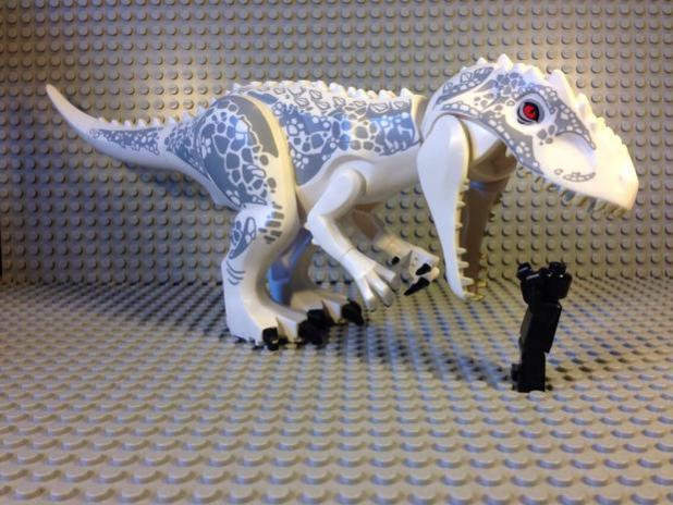 nuevo dinosaurio en Jurassic World