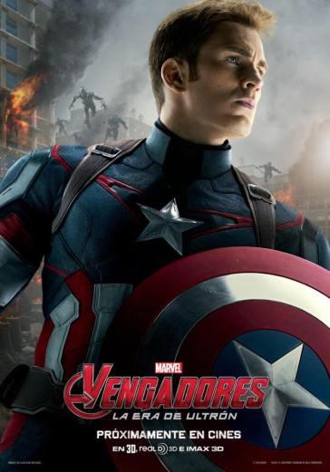capitan america poster vengadores ultron
