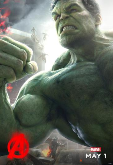 hulk poster vengadores ultron
