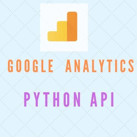 Google Analytics – using Python API