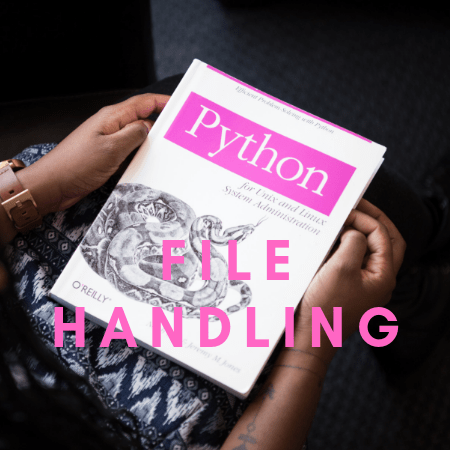 Handling Files with Python