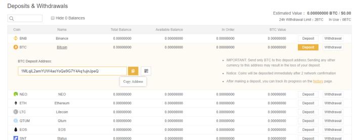 bitcoin yatırma