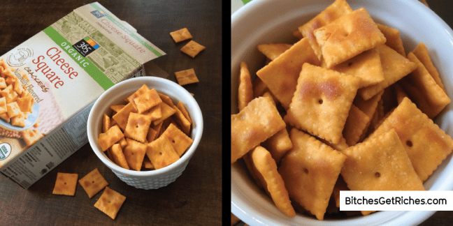 365 Organic Cheese Square Crackers