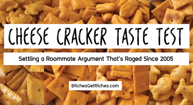 WHICH. IS. THE. BEST. CHEESE. CRACKER?