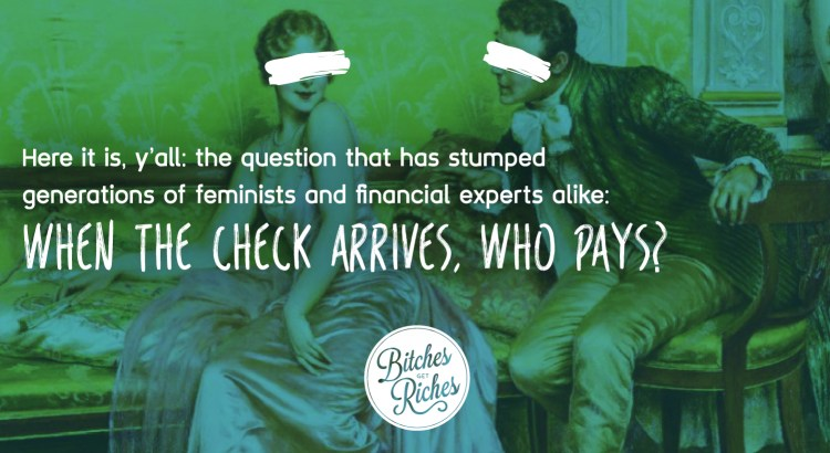When the check arrives, who pays?