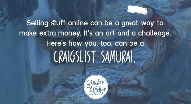 Here's how you, too, can be a Craigslist Samurai.