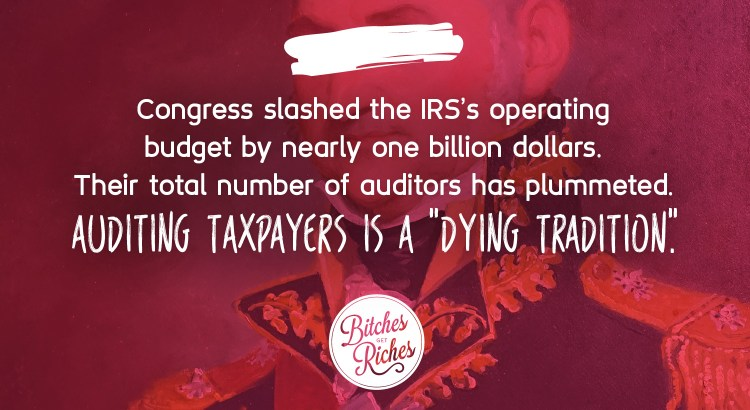 "Auditing taxpayers is a ""dying tradition."""