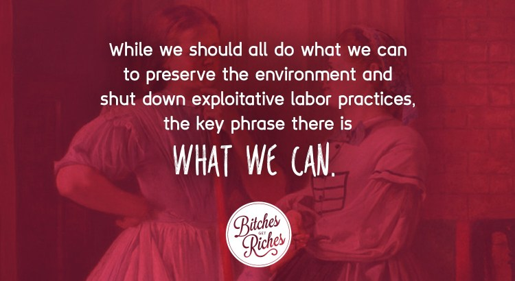 "While we should all do what we can, the key phrase there is ""what we can."""