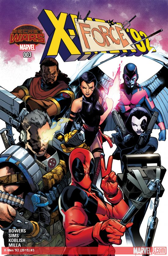 marvel comics 8/26/15
