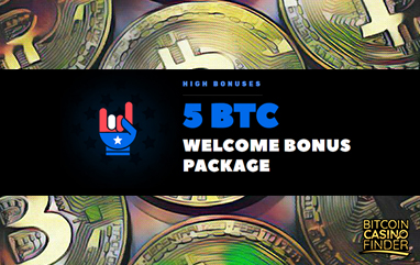BitcoinCasino.us Leads Off With 5 BTC Welcome Bonus