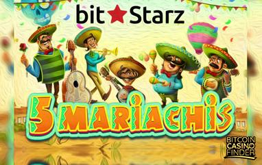 Player Wins $70,000 Worth of BTC At BitStarz's 5 Mariachis