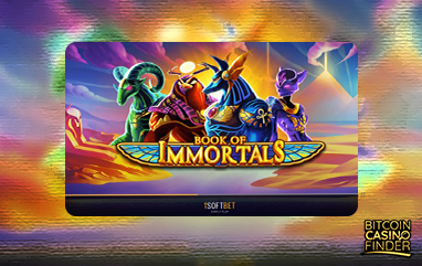 iSoftBet Releases Egyptian-Themed Slot Book of Immortals