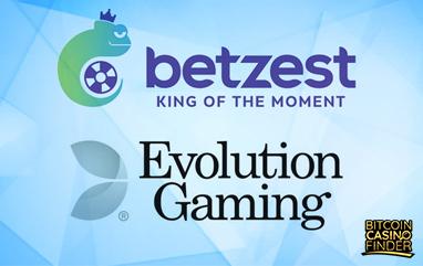 Betzest Expands Live Casino Portfolio With Evolution Gaming Creations