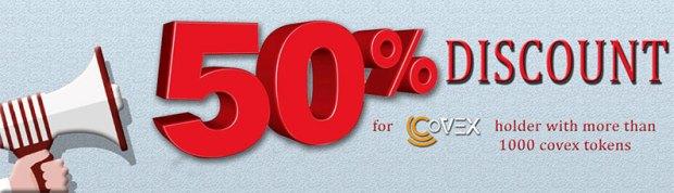 covex 50 discount