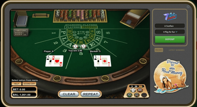 Bitcoin gambling website 7Bit Casino casino