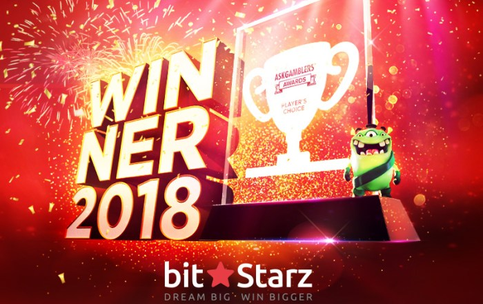 BitStarz wins player's choice casino award
