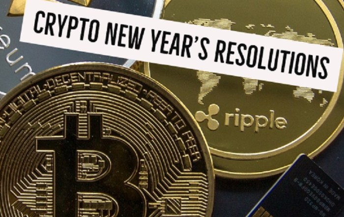 Crypto New Years Resolution