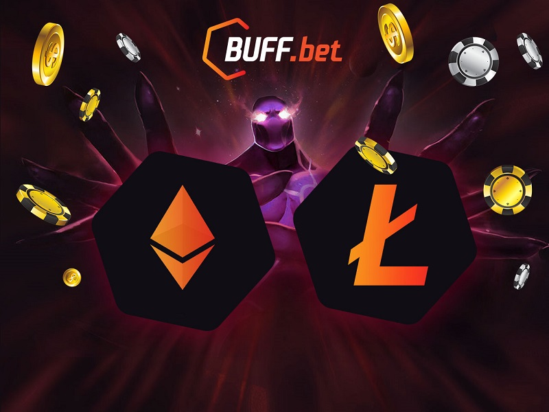 BUFF.bet welcomes Ether and Litecoin