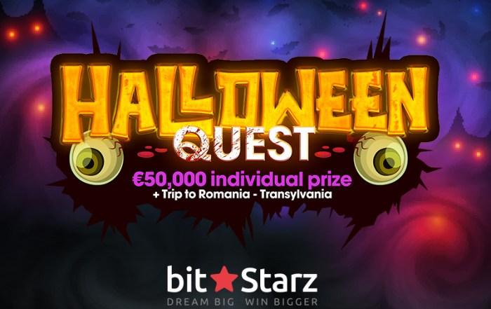 Halloween Quest logo Bitstarz