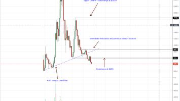 Bitcoin Cash Weekly Chart Sep 13