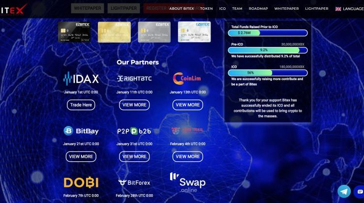 PR: Bitex Global Launches XBX on Global Exchanges 1