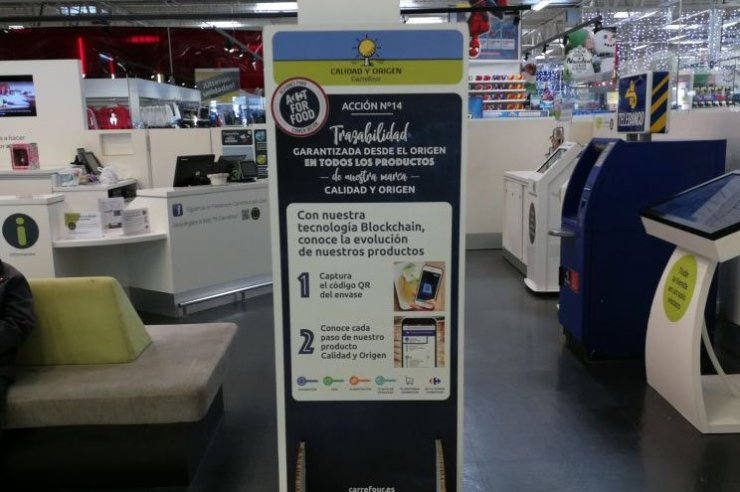 Carrefours Blockchain in Spain is already Live 1