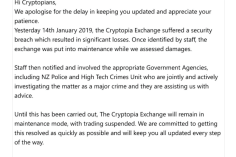 Hack or Exit Scam? Cryptopia Users' Millions of Dollars at Risk of Loss 2