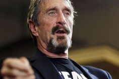 Presidential Candidate John McAfee Flees U.S. for Alleged Tax Fraud 5