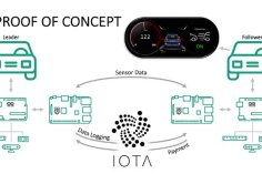 University of Bayreuth is developing an IOTA-based platooning prototype 1