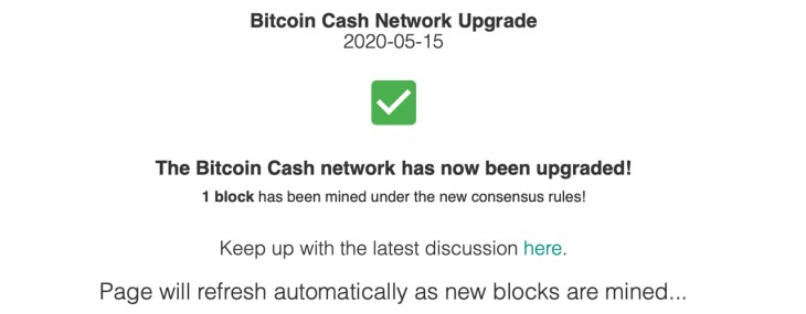 Bitcoin Cash Upgrade Complete: 3 New Features Added to Consensus Rules