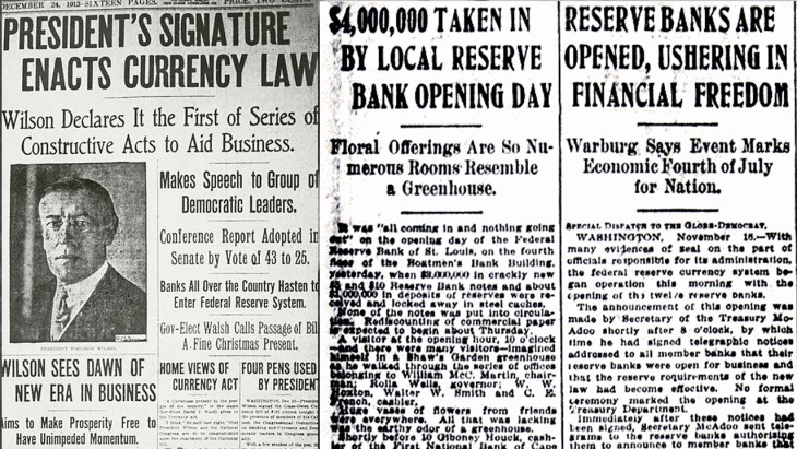 American Panic Led to the Creation and Expansion of the Corrupt Federal Reserve System 4