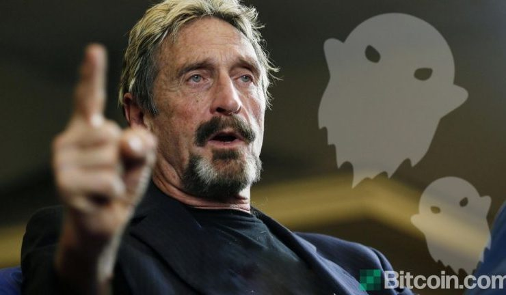 John McAfee Ditches Ghost Crypto Project: He Says It Will Fail 1