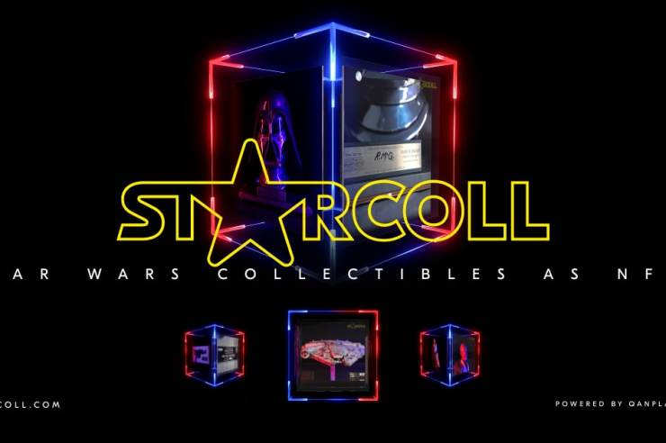 StarColl Star Wars Collectibles as NFTs cover A
