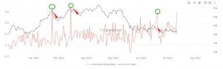 Bitcoin Whale Ratio