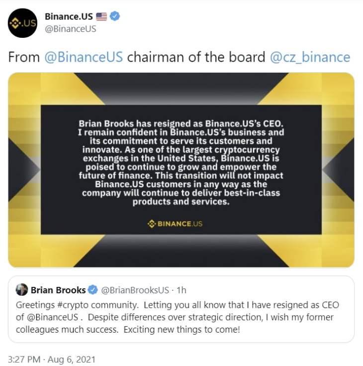 Former Financial Regulator Resigns as CEO of Binance US Amid Rising Global Regulatory Scrutiny