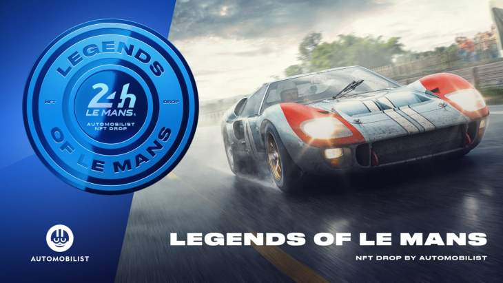 24 Hours of Le Mans Endurance Race Launches NFT Collection Crafted by the Automobilist